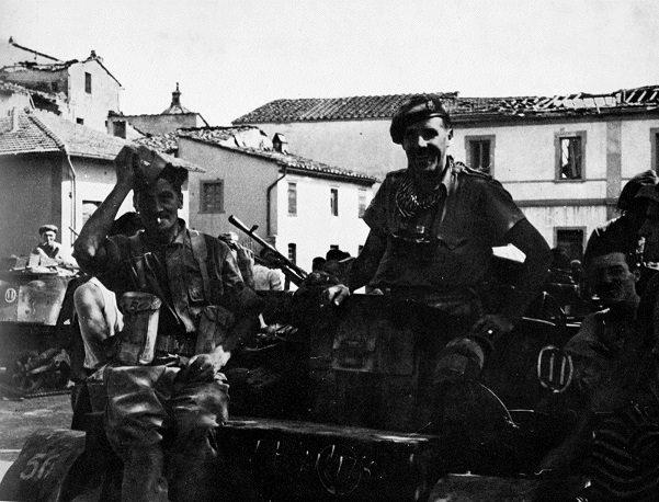 1944, Alleati a Fucecchio