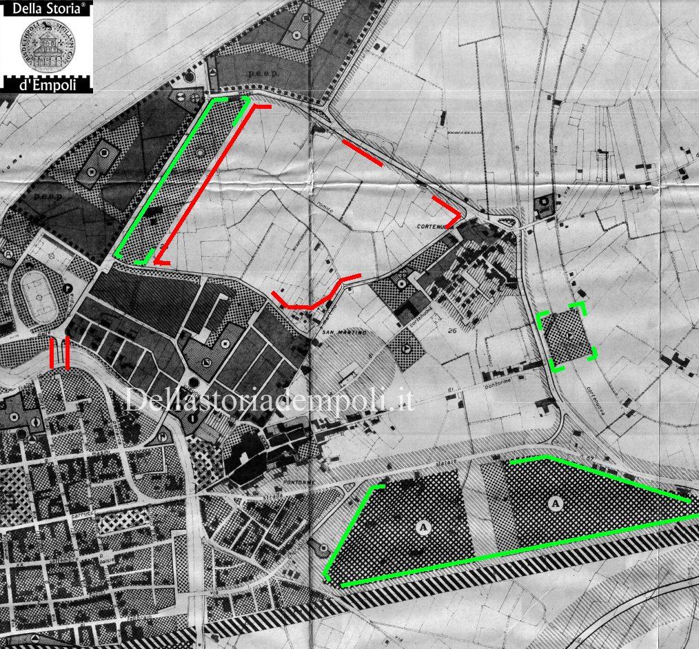 Il Piano Regolatore Di Empoli: Levata All'anno 1973