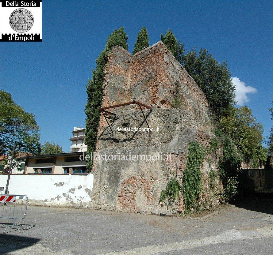 Empoli Bastione Delle Mura Angolo Sud Ovest