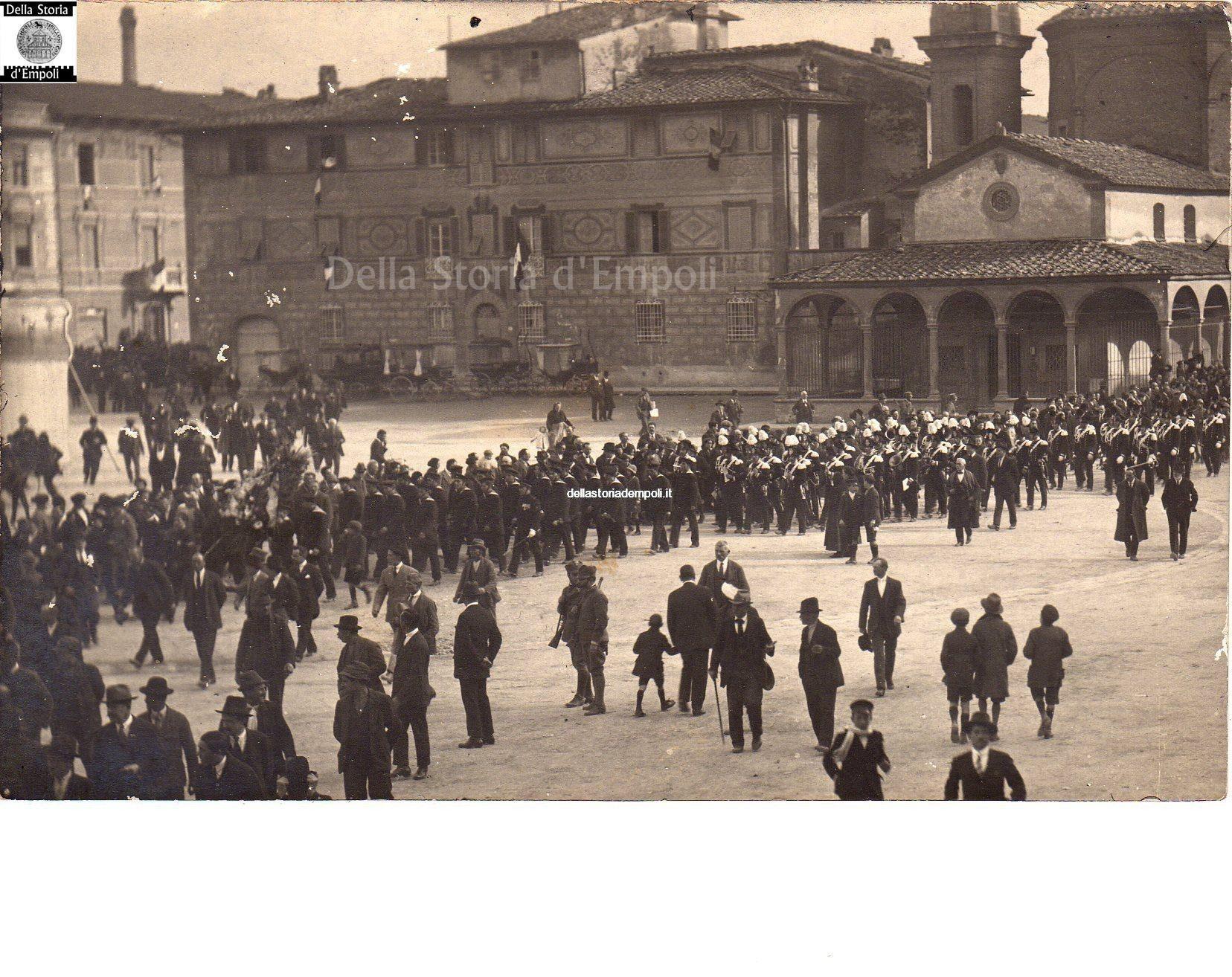 Empoli – Commemorazione Caduti 1921