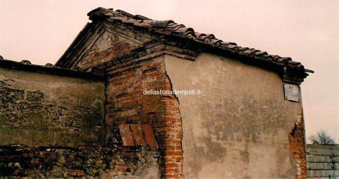 Lato tergale dell'edificio - Foto di Carlo Pagliai