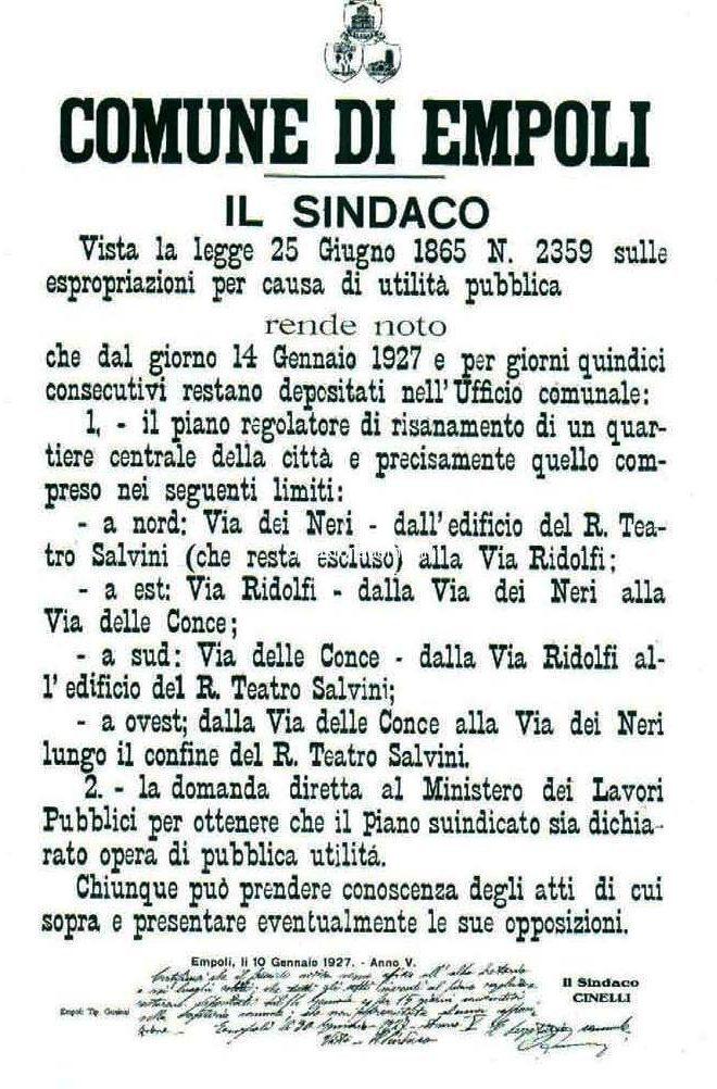 Esproprio 1927
