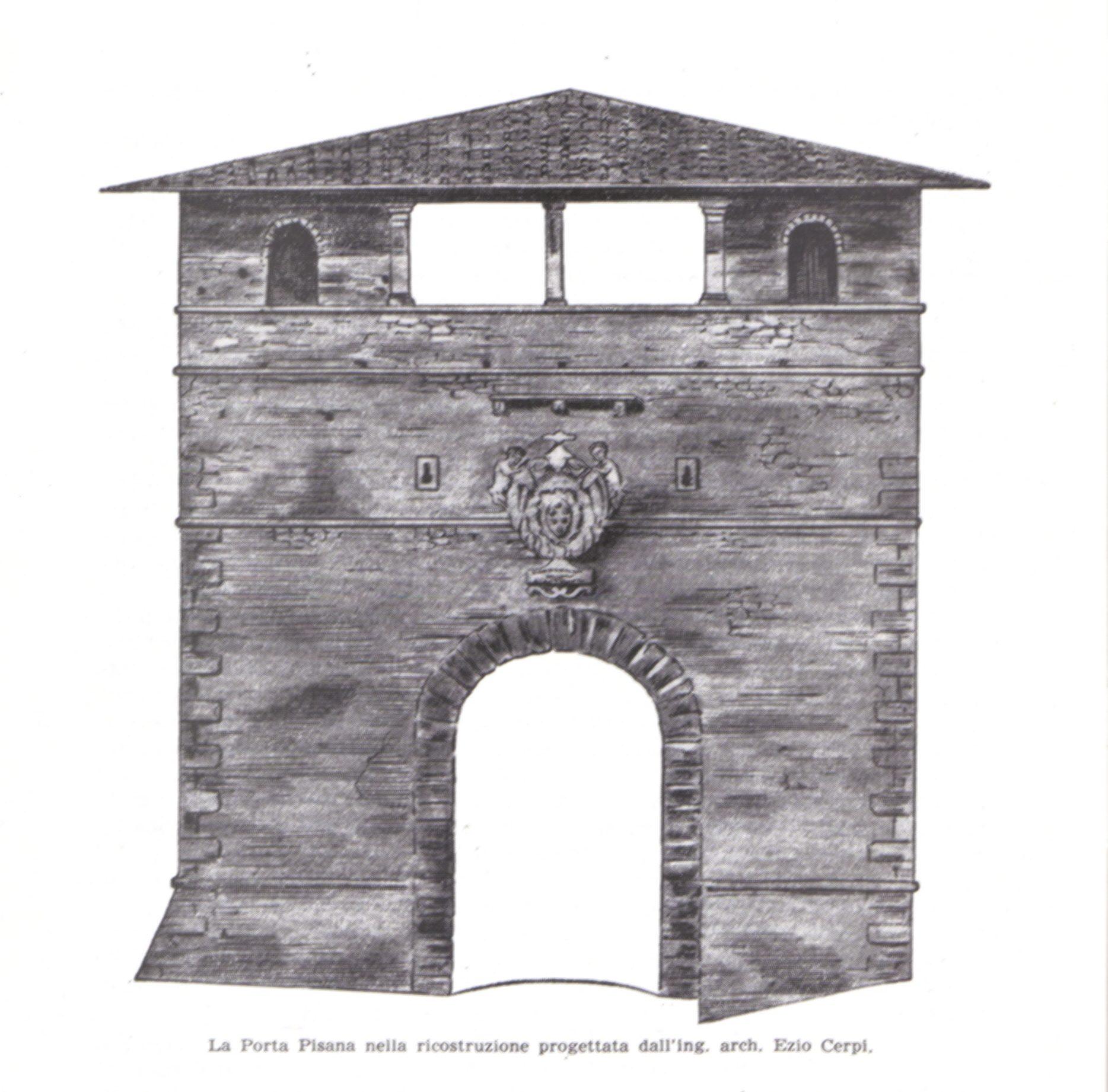 Il progetto di restauro di porta pisana dell 39 architetto - Architetto porta ...
