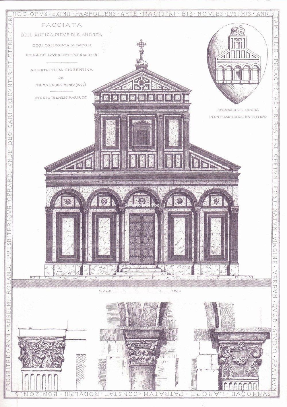 La Collegiata Di S.Andrea Nella Presunta Versione Originale Romanica