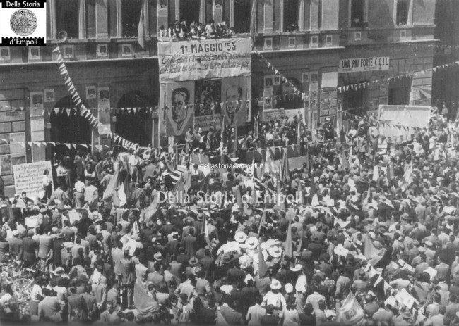 Comizio Piazza Del Popolo 01 05 1953 1024×730
