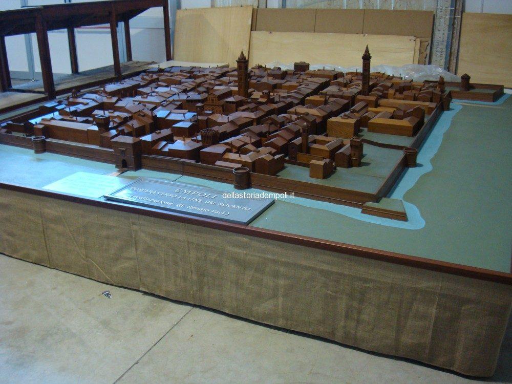 Empoli Nel Tardo Seicento: Modellino In Legno All'Archivio Storico