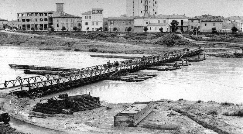 Empol - Ponte di barche 1968 da Eugenio Argento 1