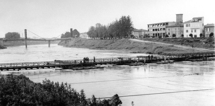 Empol - Ponte di barche 1968 da Eugenio Argento 2