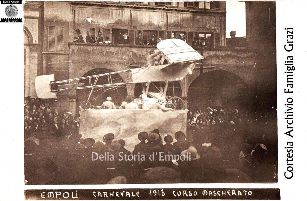 Empoli Piazza Dei Leoni Carnevale 1913 Copia 1024×671