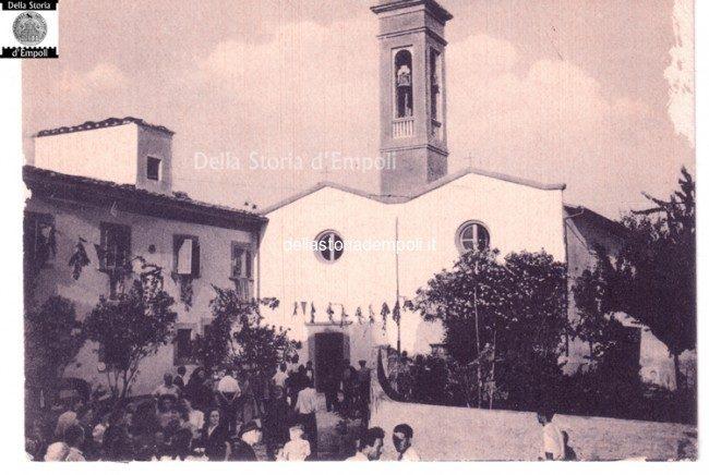 Empoli Riottoli Chiesa Cartolina Anni 50 60 21 650×436
