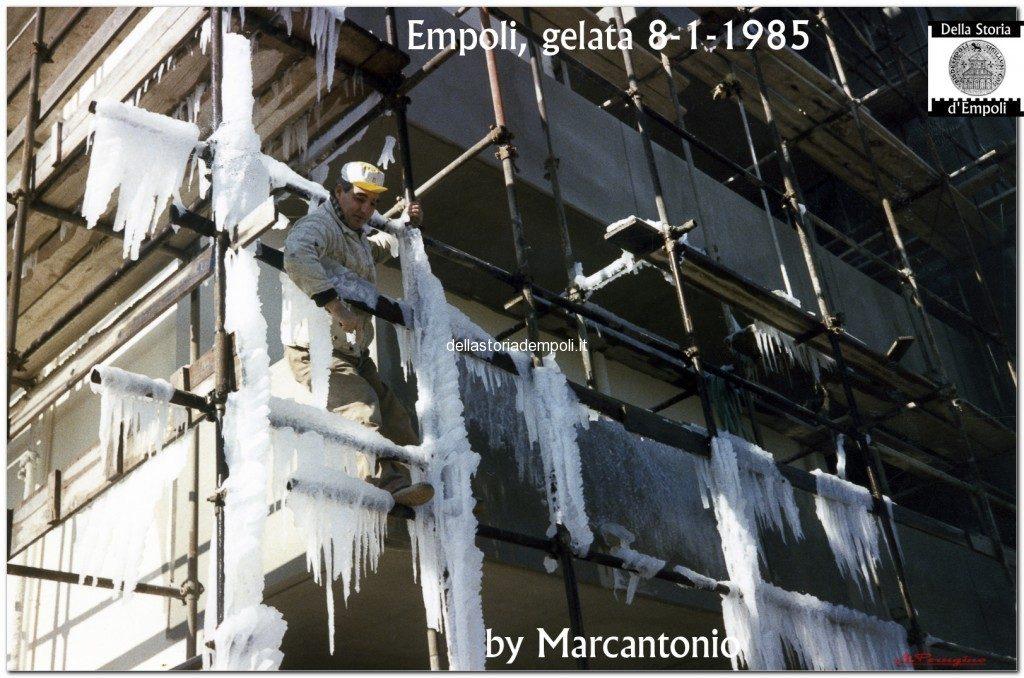 Gelata A Empoli 08-01-1985