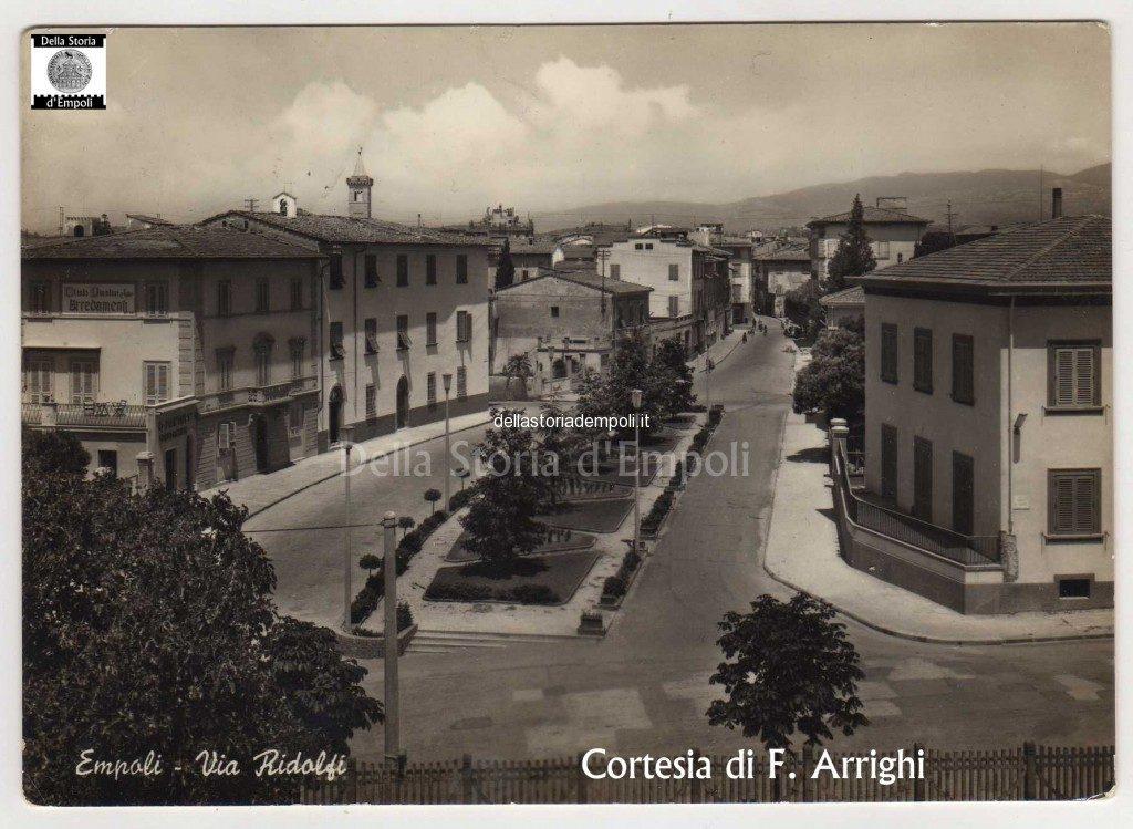 Empoli, Via Ridolfi Tratto Oggi Via Mario Fabiani