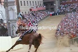 Alcuni Fantini Empolesi Al Palio Di Siena.