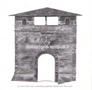 Il Progetto Di Restauro Di Porta Pisana Dell'architetto Ezio Cerpi, 1959