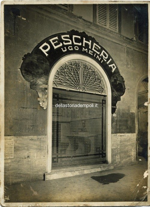 Pescheria Ugo Meini 1940