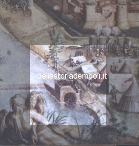 Particolare del Mulino nell'affresco del Vasari 1555-1560 ca