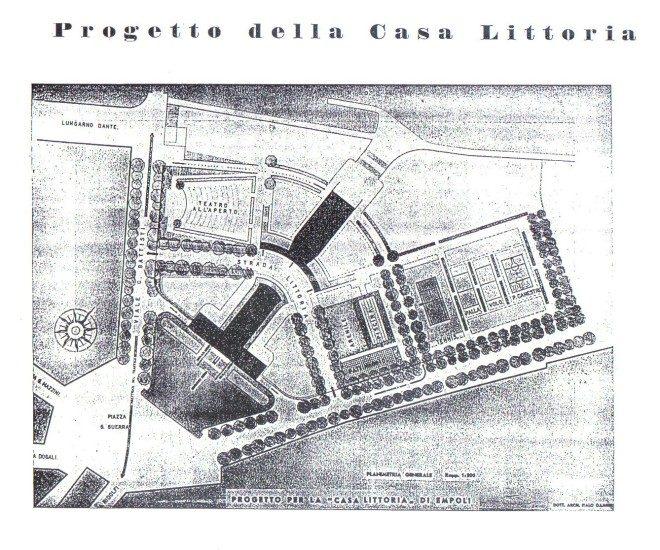 Empoli - Progetto casa del fascio 1939 1