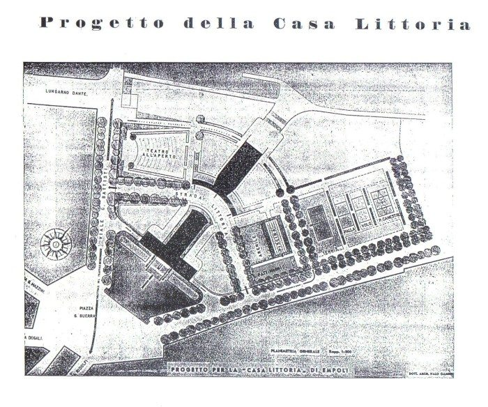 Empoli – Progetto Casa Del Fascio 1939 1