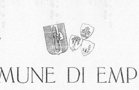 Empoli Stilema Fascio 1932 Licenza Edilizia