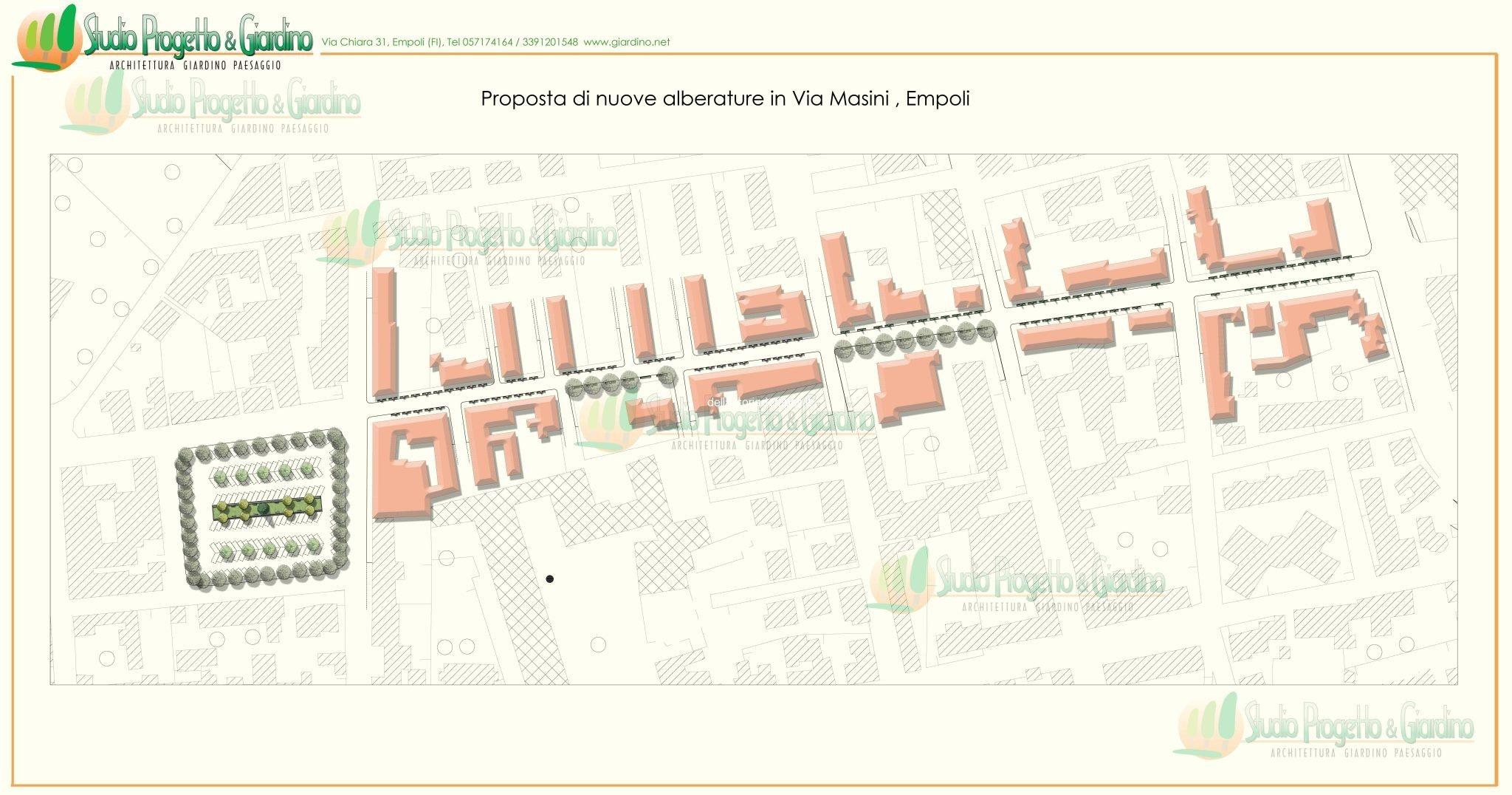 Progetto Di Rinverdimento Di Via Masini – Di Roberto Fabiani, Dott. Agronomo