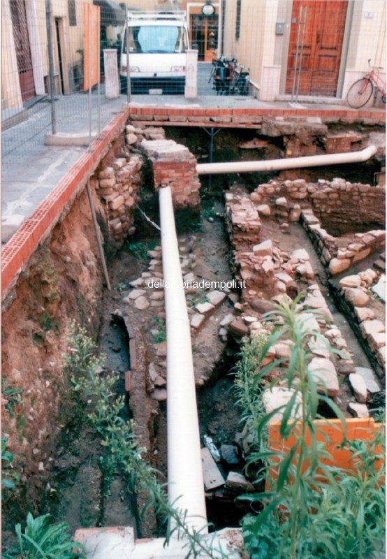 Empoli – Scavi Piazzetta Propositura 1999 6