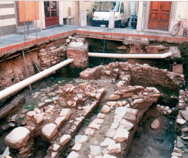 Empoli – Scavi Piazzetta Propositura 1999 7