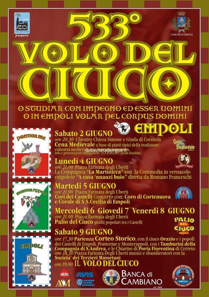 Volo Del Ciuco N° 533 – Anno 2012