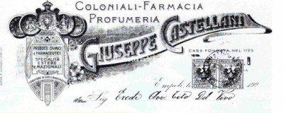 Empoli – Pubblicita farmacia Castellani