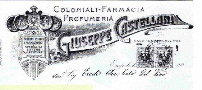 Farmacia Castellani, Pubblicità