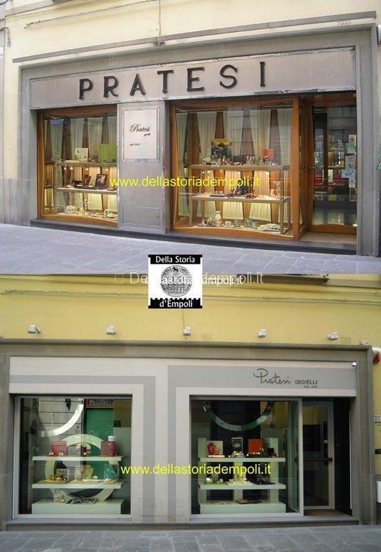 Gioielleria Pratesi, Recente Restyling – Di Carlo Pagliai