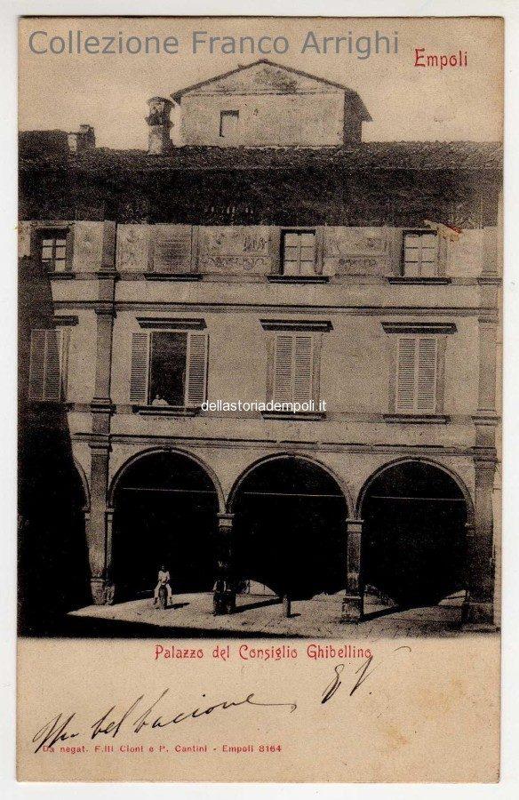 Dalla Collezione di Franco Arrighi: palazzo Ghibellino nel 1903