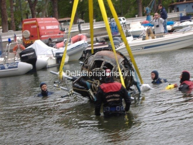 Claudio Biscarini: Recupero Di Un B 17 Nel Lago Di Bolsena