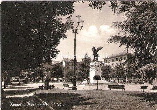 Empoli, Piazza Della Vittoria Fine Anni '60