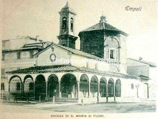 Madonna Del Pozzo Con Edificio Di Lato