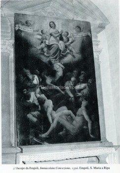 2) Jacopo da Empoli, Immacolata Concezione, 1596. Empoli, S. Maria a Ripa