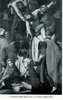 3) Ludovico Cigoli, Deposizione, 1607. Firenze, Palazzo Pitti.