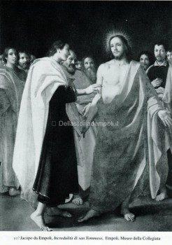 10) Jacopo da Empoli, Incredulità di san Tommaso, 1602. Empoli, Museo della Collegiata.