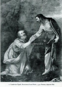 11) Ludovico Cigoli, Vocazione di san Pietro, 1599. Firenze, depositi Pitti.
