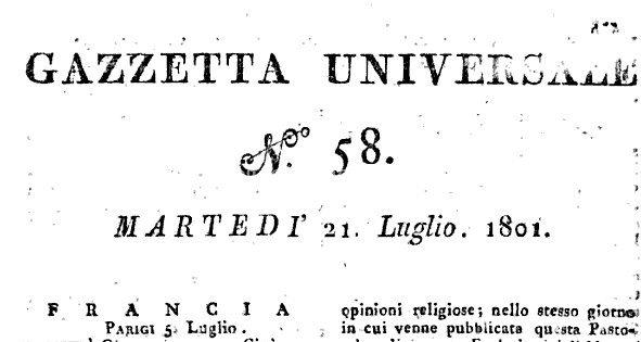 Un Avviso Di Bando Per Medico Condotto Del 1801
