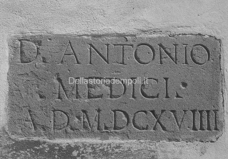 S. Maria E I Medici: Iscrizione Lapidea E Considerazioni – Di Carlo Pagliai