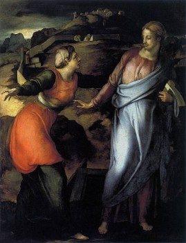 462px-Jacopo_Pontormo_-_Noli_Me_Tangere_-_WGA18107