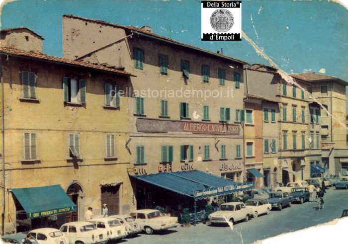 Bar Vittoria In Una Cartolina Del 1962