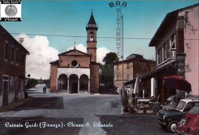 Cerreto Guidi: Santuario Di S. Liberata Negli Anni '60