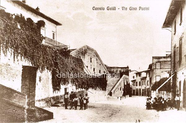 Foto D'epoca Di Cerreto Guidi