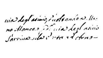 Empoli 1710: Indice sintetico dei Possessori per cognome