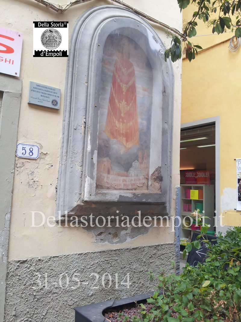 Tabernacolo Della Madonna Di Loreto In Via Ridolfi – Di C. Pagliai