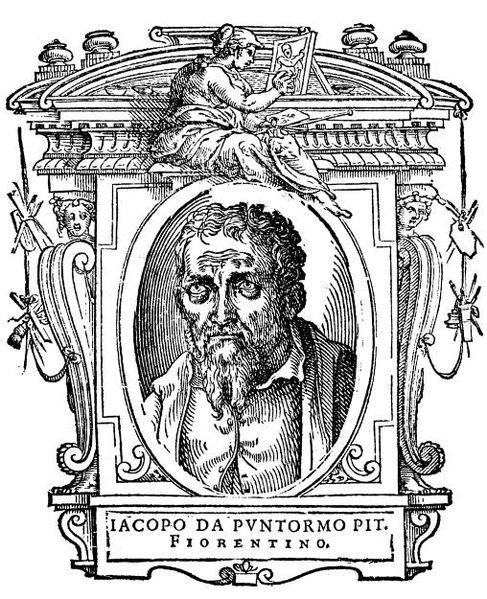 487px 138 Le Vite, Jacopo Pontormo