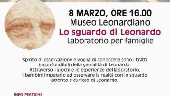 Al Museo Leonardiano la seconda domenica del mese è dedicata alle famiglie