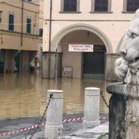 Arno 17 Novembre 2019, Allagamento Empoli In Centro Storico