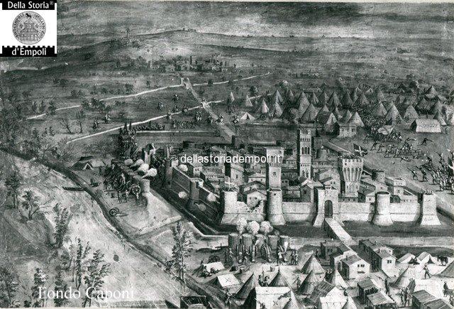 Affresco dello Stradano e Vasari